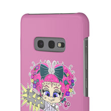 Load image into Gallery viewer, Attitude Cartoon Style Snap Case in Pink