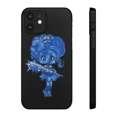 Attitude Blue Fill Style Snap Case in Black