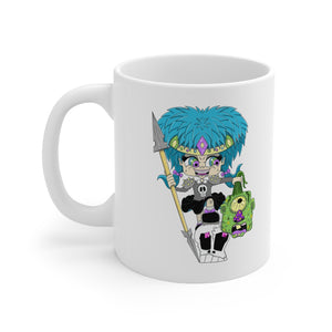 Troll Hater Cartoon Style Mug