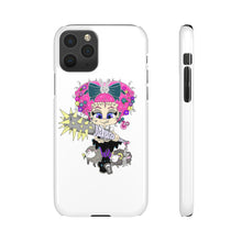 Load image into Gallery viewer, Attitude Cartoon Style Snap Case in White