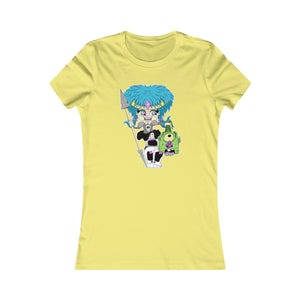 Troll Hater Cartoon Style Slim Fit Tee