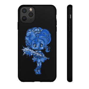Attitude Blue Fill Style Tough Case in Black