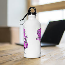 Load image into Gallery viewer, Troll Hater Pink Fill Style Stainless Steel Water Bottle