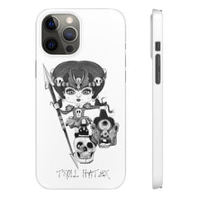 Load image into Gallery viewer, Troll Hater Goth Light Style Snap Case in White