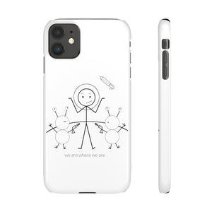 Astronaut Snap Phone Case Light