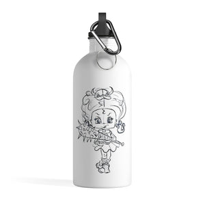 Attitude Outline Style Stainless Steel Water Bottle