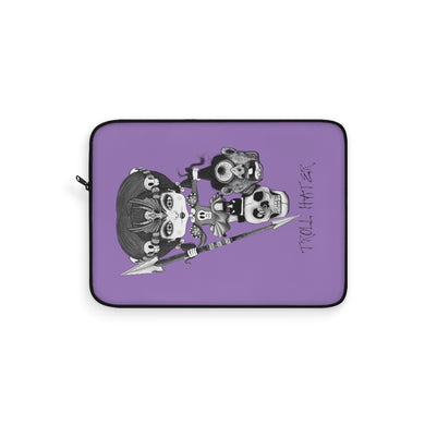 Troll Hater Goth Light Style Laptop Sleeve Purple