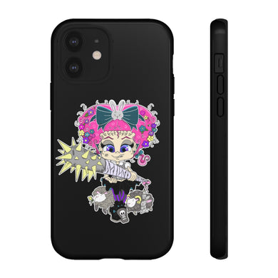 Attitude Cartoon Style Tough Case in Black