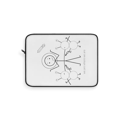 Astronaut Laptop Sleeve Light
