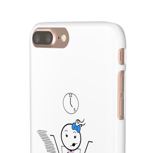 Female Office Worker Snap Phone Case Light