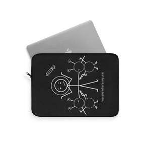 Astronaut Laptop Sleeve Dark