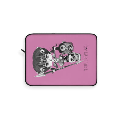 Troll Hater Goth Light Style Laptop Sleeve Pink