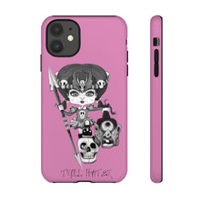 Load image into Gallery viewer, Troll Hater Goth Light Style Tough Case in Pink