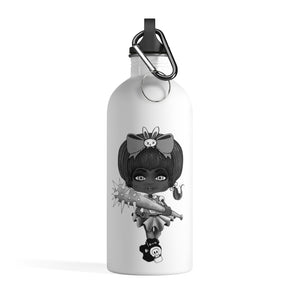 Attitude Goth Dark Style Stainless Steel Water Bottle
