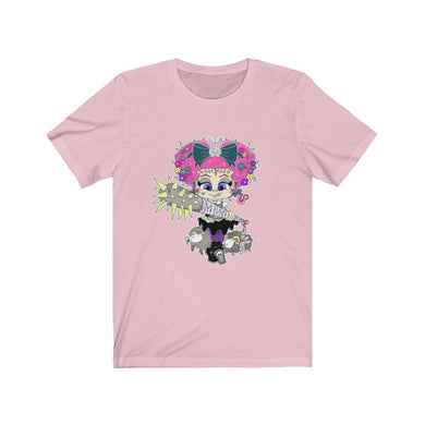Attitude Cartoon Style Short Sleeve Tee