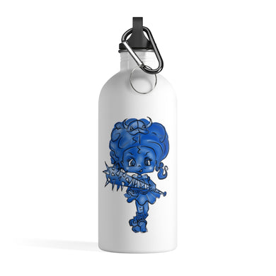 Attitude Blue Fill Style Stainless Steel Water Bottle