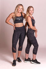 Vital Mesh Crop Leggings