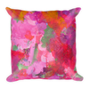 Apricot Bougainvillea Pillow