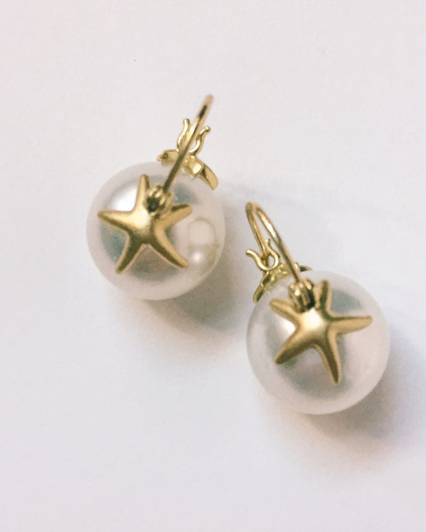 Starfish South Sea Earrings