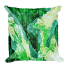 Tropical Leaves Pillow - Double Print