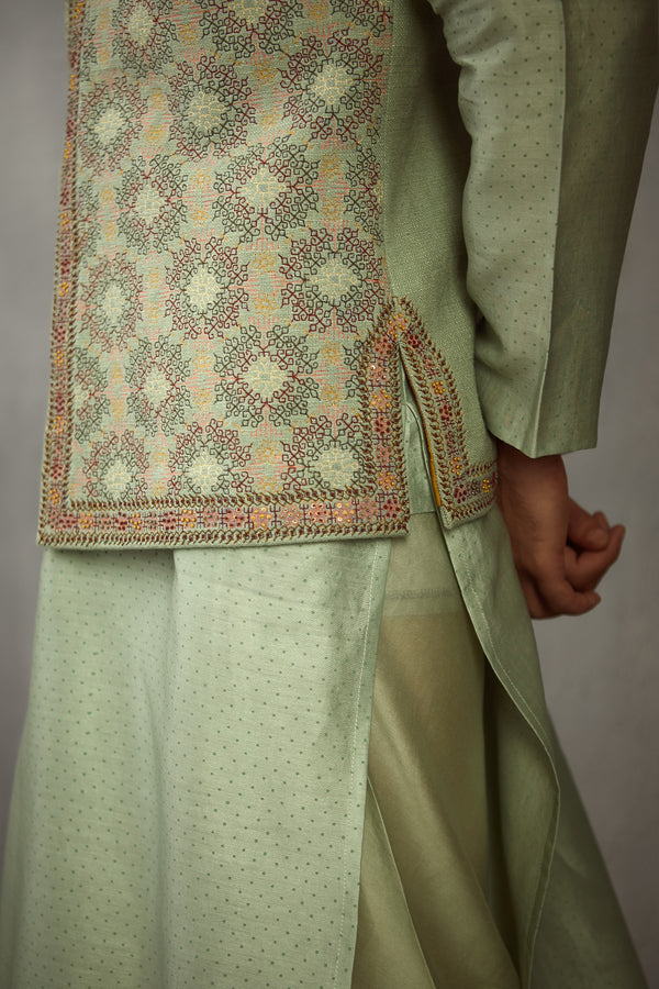 Champa Embroidered Nisarg Set