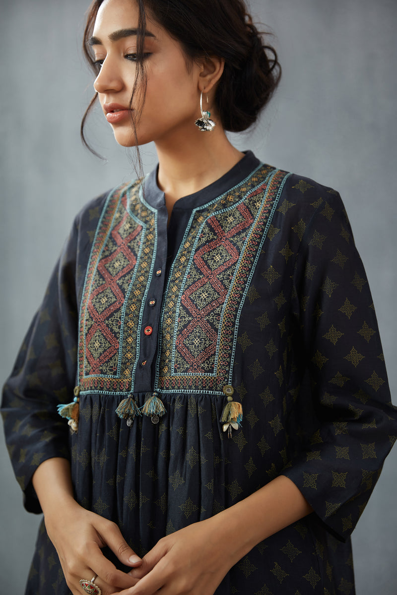 Chanderi 'Rabiah' Kurta Set