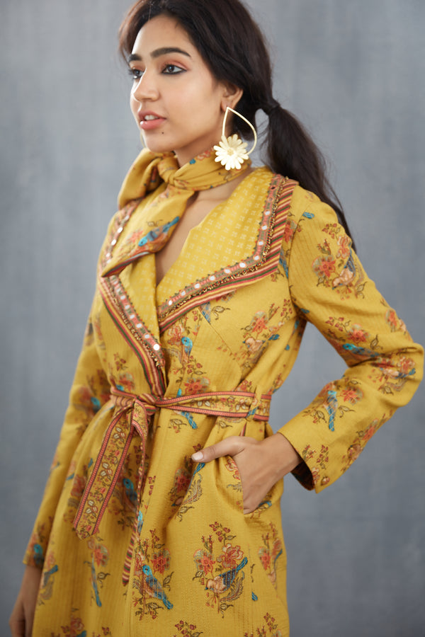 Mumtaz Double Collar Jacket