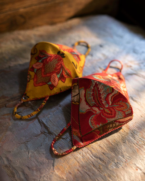 Chintz Nakaab Set of 2