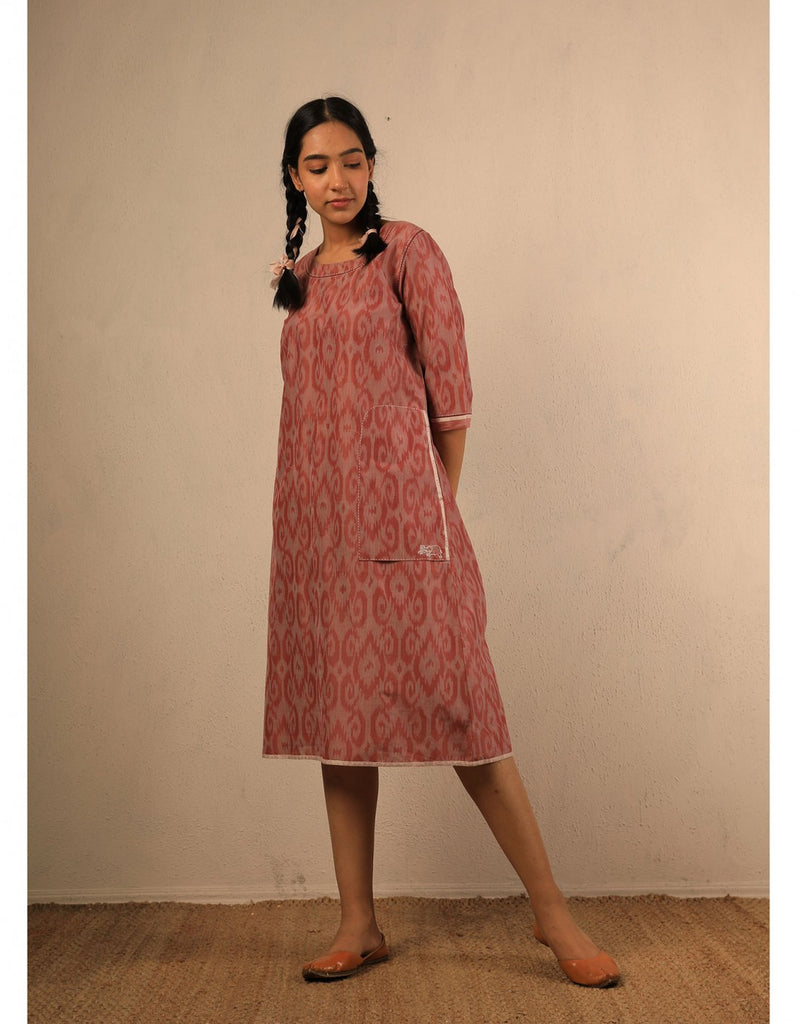 Sharbati Ikat Dress