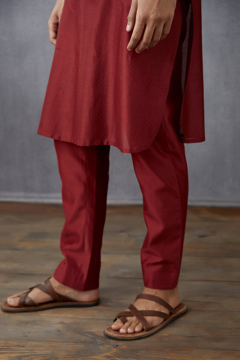 Bhoori Chanderi Kaazi pants