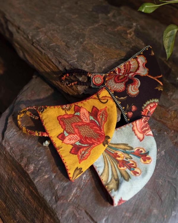 Chintz Nakaab Set of 3