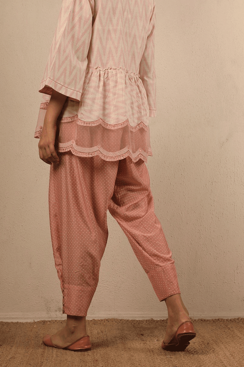 Gulabi Cotton Silk Khus Pants
