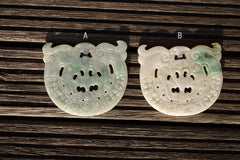 Burma Jade carved pendants (ETP00194)