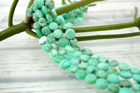 Chrysoprase 8.5-10mm button beads (ETB01105)