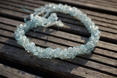 Aquamarine 3-4mm cube beads (ETB00700)