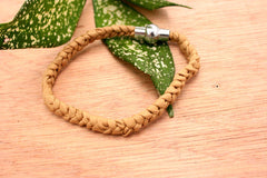 Fashionable gift/ birthday/ anniversary/ for her/ silk braided bracelet in Nude colours - perfect winter wardrobe (ETO00002)