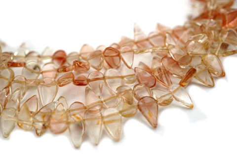Oregon SunStone drop shape beads 6-9mm (ETB01482) Healing crystal/Unique jewelry/Vintage jewelry/オレゴンサンストーン
