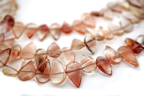 Oregon SunStone drop shape beads 7.5-13mm (ETB01483) Healing crystal/Unique jewelry/Vintage jewelry/オレゴンサンストーン