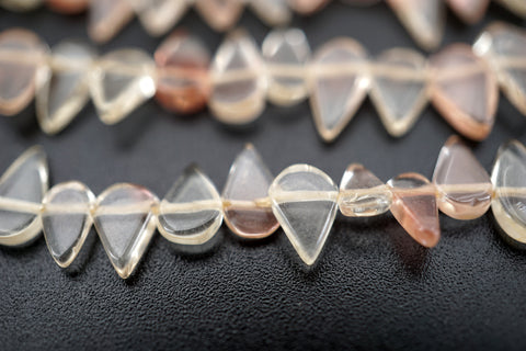 Oregon SunStone drop shape beads 5-9.5mm (ETB01487) Healing crystal/Unique jewelry/Vintage jewelry/オレゴンサンストーン
