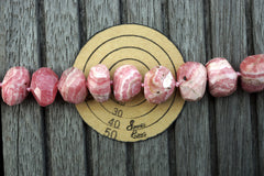 (SPL00101) Rhodochrosite faceted beads