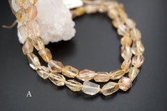 Oregon SunStone facted beads 5-7mm (ETB01379) Healing stone/Unique jewelry/Vintage jewelry/オレゴンサンストーン