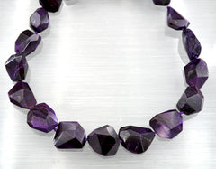 A Grade Sugilite Faceted beads (ETB01321)