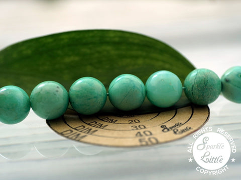 Chrysoprase A grade 11-12mm round beads (ETB01100)