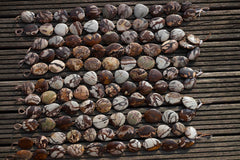 Australian Outback Jasper 26-35mm freeform beads (ETB00560)
