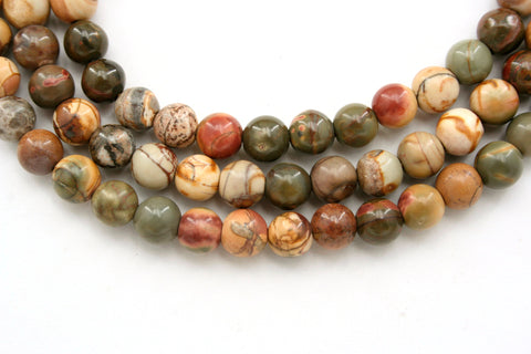 Cherry Creek 5.5-6mm round beads (ETB00390)