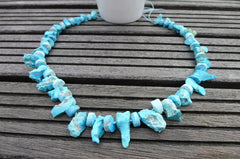 Sleeping Beauty Turquoise Natural rough beads (ETL00001)