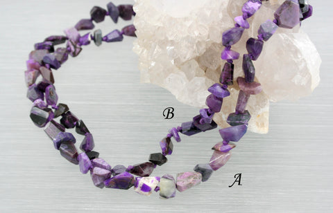 A Grade Sugilite Faceted beads (ETB00858)