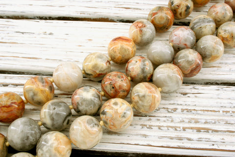 Crazy Lace Agate 17-18.5mm round beads (ETB01298)