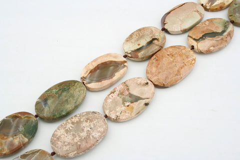 Australian Thunderegg 18-22mm oval beads (ETB00044)