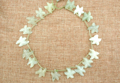 New Jade 18.5-23mm starfish shape beads (ETB01310)